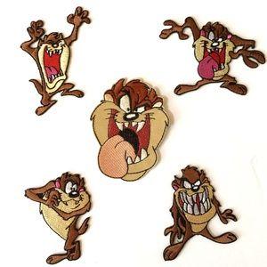 Tasmanian Devil patch iron on Looney Tunes Taz DIY